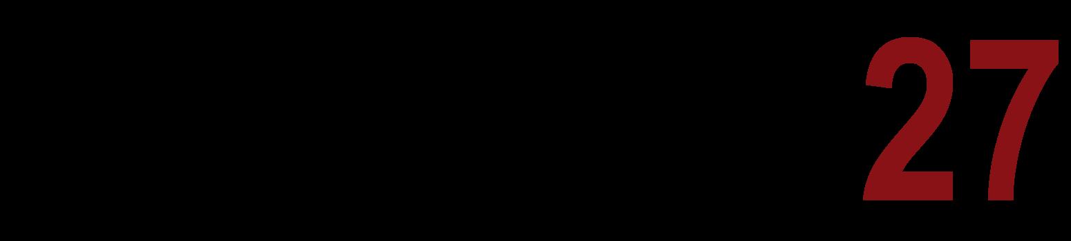 Grande transparente logo con letras distrito 27 for Logos con letras